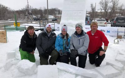 Congratulations to Team Out in the Cold, Winners of the Elkhorn's Snow-Fest competition!